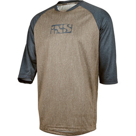 IXS Vibe 8.2 Bike Jersey Shortsleeve Men brown/blue